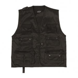 Жилет Mil-Tec Fishing Vest black