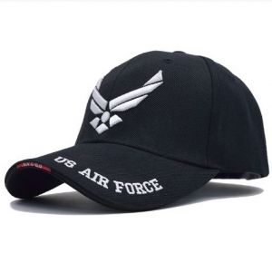 Бейсболка US AIR FORCE black