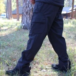 Брюки тактичні Soft Shell police black