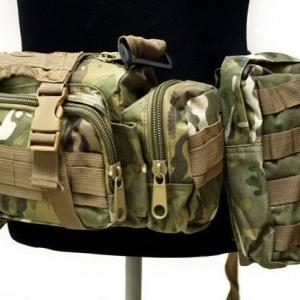 Рюкзак тактичний з підсумками 46L multicam
