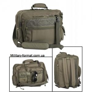 Сумка-рюкзак АВІАТОР олива, для документів/ноутбука