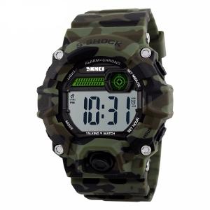 Чоловічий годинник Skmei 1162 Камуфляж/олива