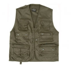 Жилет Mil-Tec Fishing Vest oliv