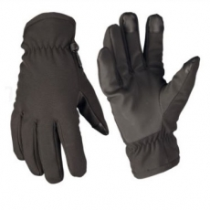Рукавиці Mil-Tec Softshell Thinsulate black