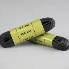 Шнурки вощені Mil-Tec 140 см black