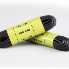 Шнурки вощені Mil-Tec 180 см black