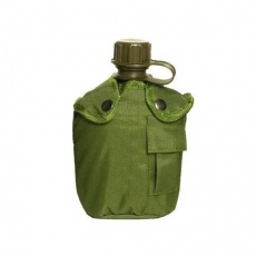 Фляга тактична пластикова в чохлі Mil-Tec 1л oliv