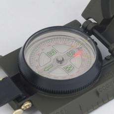 Компас тактичний з підсвічуванням металевийMil-Tec oliv