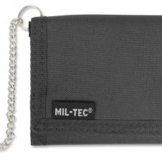 Гаманець з ланцюжком тактичний Mil-Tec black