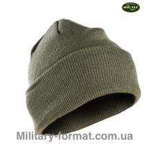 Утеплена шапка Mil-Tec Thinsulate oliv