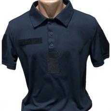 Футболка поло Quick Dry police dark blue