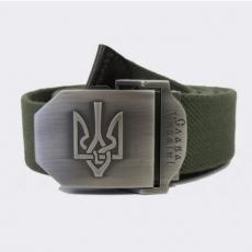 Ремінь тактичний з гербом Слава Україні oliv