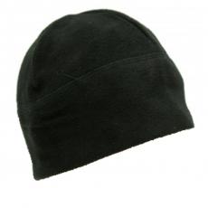 Флісова шапка чорна