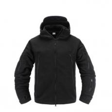 Куртка флісова чорна Pawe Hawk