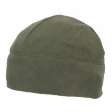 Флісова шапка оливкова