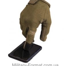 Рукавиці сенсорні тактичні Mil-Tec oliv