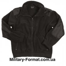 Куртка флісова Mil-Tec schwarz