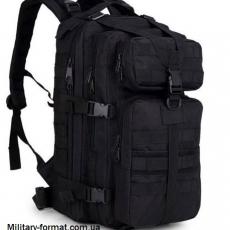 Рюкзак тактичний (штурмовий) чорний 20л