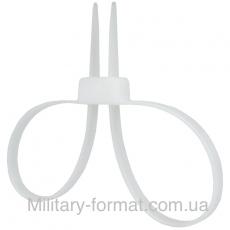 Кайданки пластикові самостягуючі Mil-Tec White