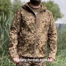 Тактична куртка softshell піксель ЗСУ
