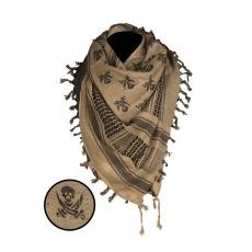 Арафатка Mil-Tec (піратські черепа)