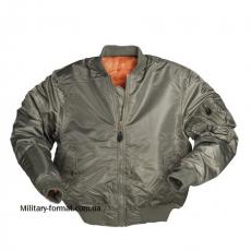 Куртка Mil-tec МА1 STYLE Oliv