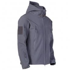 Куртка Softshell ESDY сіра с капюшоном