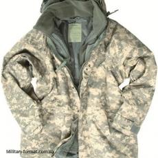 Куртка водонепроникна Mil-tec з флісовою підкладкою піксель