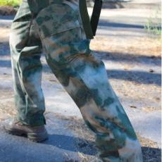 Брюки тактичні SOFT SHELL A-TACS FG