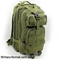 Рюкзак тактичний (штурмовий) оливковий 20л